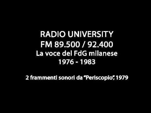 Radio University Milano, 1979