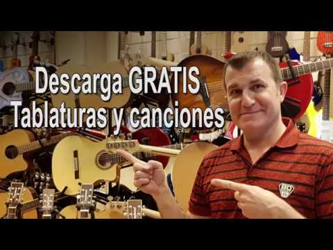 Tablaturas, Partituras y Canciones GRATIS
