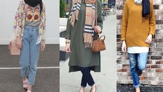 Casual Hijab Jeans Outfits for Girls | LOOKBOOK | Outfit Ideas