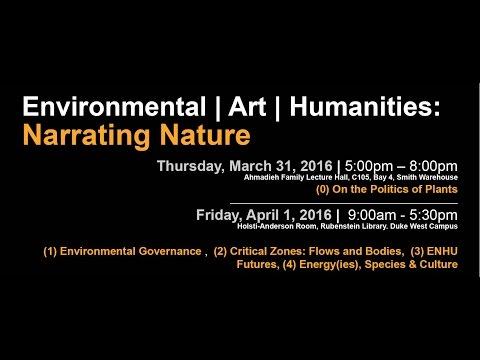 ENVIROMENT | ART | HUMANITIES. NARRATING NATURE I