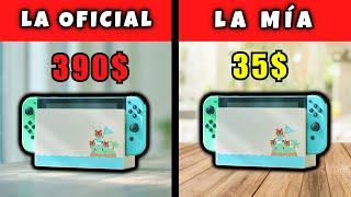 Hice Mi Propia Nintendo Switch ed. Animal Crossing Por 35$ 😎