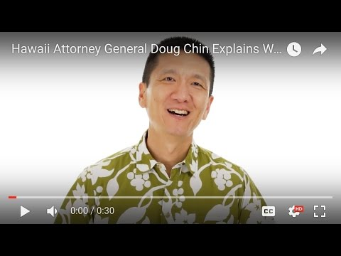 Hawaii Attorney General Doug Chin Explains Why Internet Safety is Important