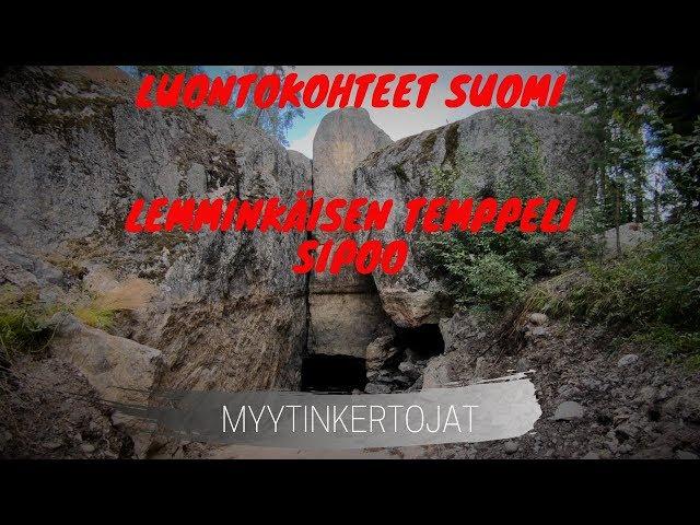 Luontokohteet Suomi - Lemminkäisen Temppeli - Sipoo