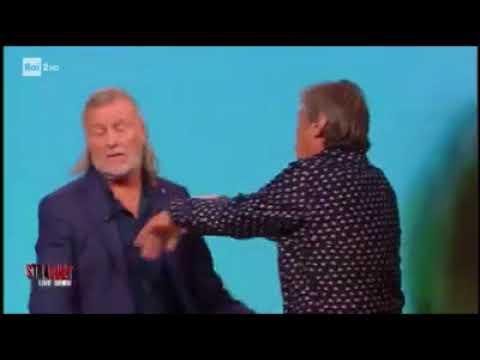 RISSA IN TV , STRACULT RAI 2 ( FRATELLI DELL'ACQUA )
