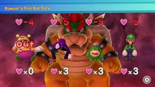 Mario Party 10 Bowser Party #53 Wario, Waluigi, Spike, Luigi Whimsical Waters Master Difficulty