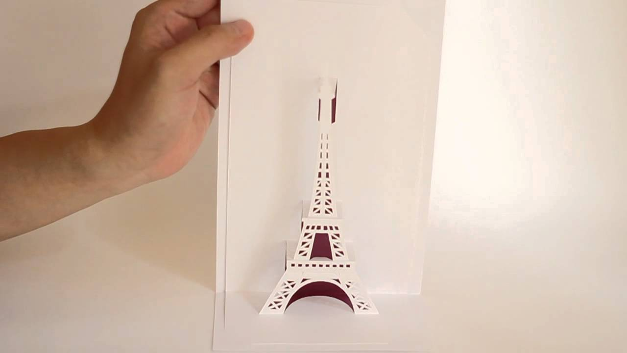 eiffel tower pop up youtube