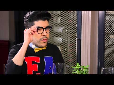Eugene Ebner Interviews Fashion Designer Mondo Guerra - YouTube