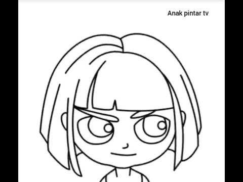 gadis-cara-menggambar-anak-lucu-dan-unik-anak-pintar-tv-#anakpintar-#anak-#videoanak-#menggambar-20