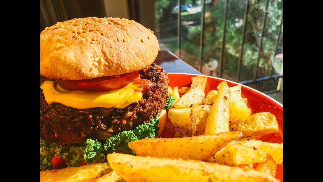 Hamburguesa Vegana a la Americana  YouTube
