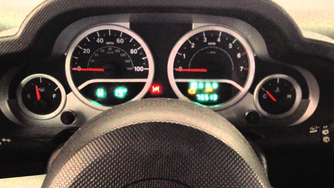 Jeep patriot oil change indicator