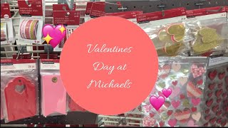New Valentines Paper Crafts at Michaels | Come Shop with me!
