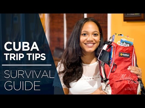 Cuba Trip Tips Ep2 | Survival Guide | Made To Order | Chef Zee Cooks