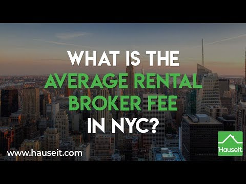 What is the Average Rental Broker Fee in NYC? (2020) | Hauseit®