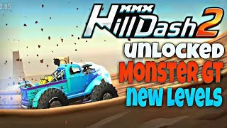 UNLOCKED 🔥MONSTER GT🔥 | MMX HILL DASH 2 | HOW TO GET NITRO IN GAME 😉 - BY PRESTIGE | HUTCH GAMES