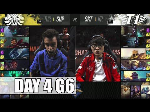 SuperMassive vs SK Telecom T1 | Day 4 Mid Season Invitational 2016 | SUP vs SKT MSI 1080p