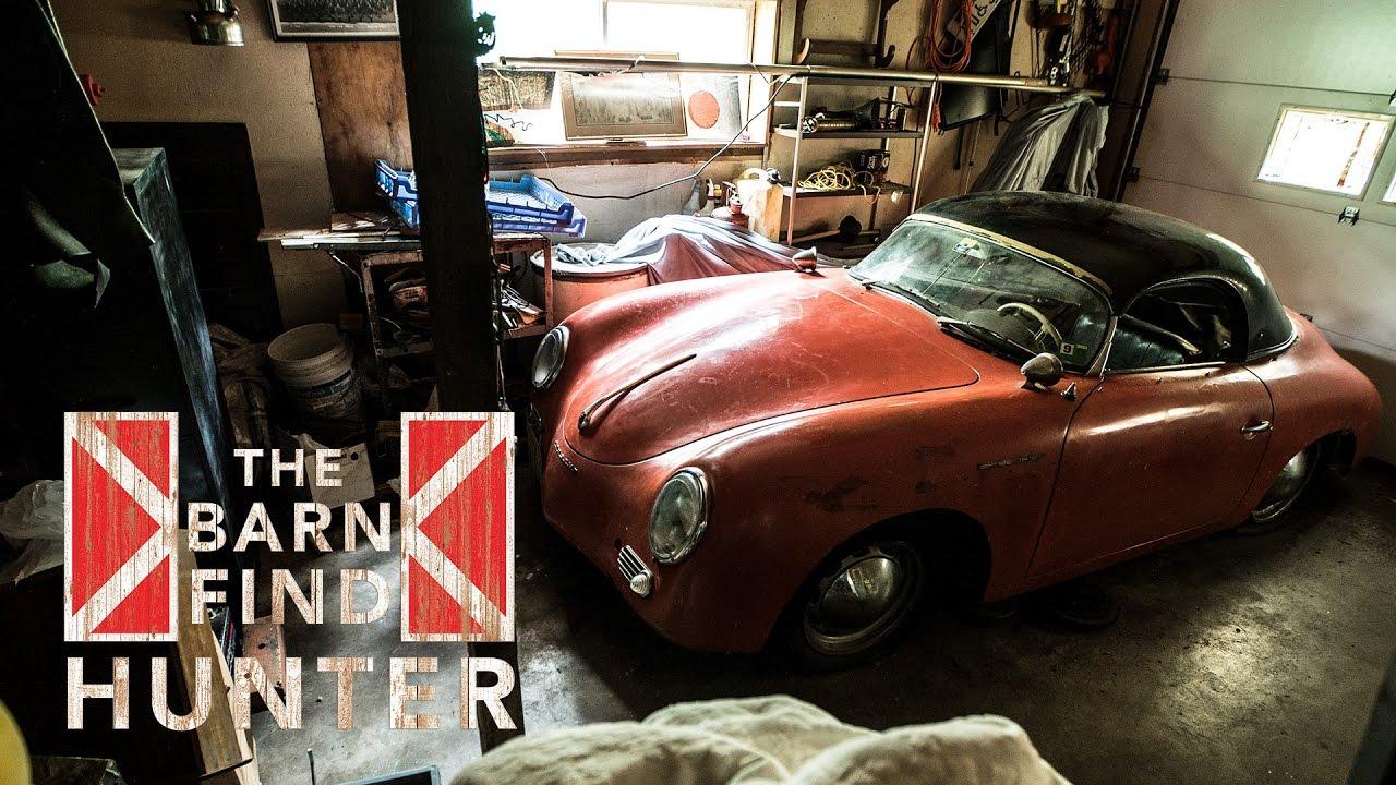 341 000 1957 Porsche 356 A Speedster Barn Find Hunter