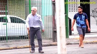 Vovô dando mortal PARTE 1 - Old Man #BackflipChallenge