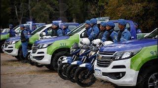 Garro presentó nuevos móviles para Seguridad