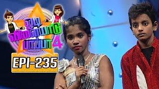 Odi Vilayadu Pappa 4 12-07-2016 – Kalaignar tv Show 11-07-16 Episode 235