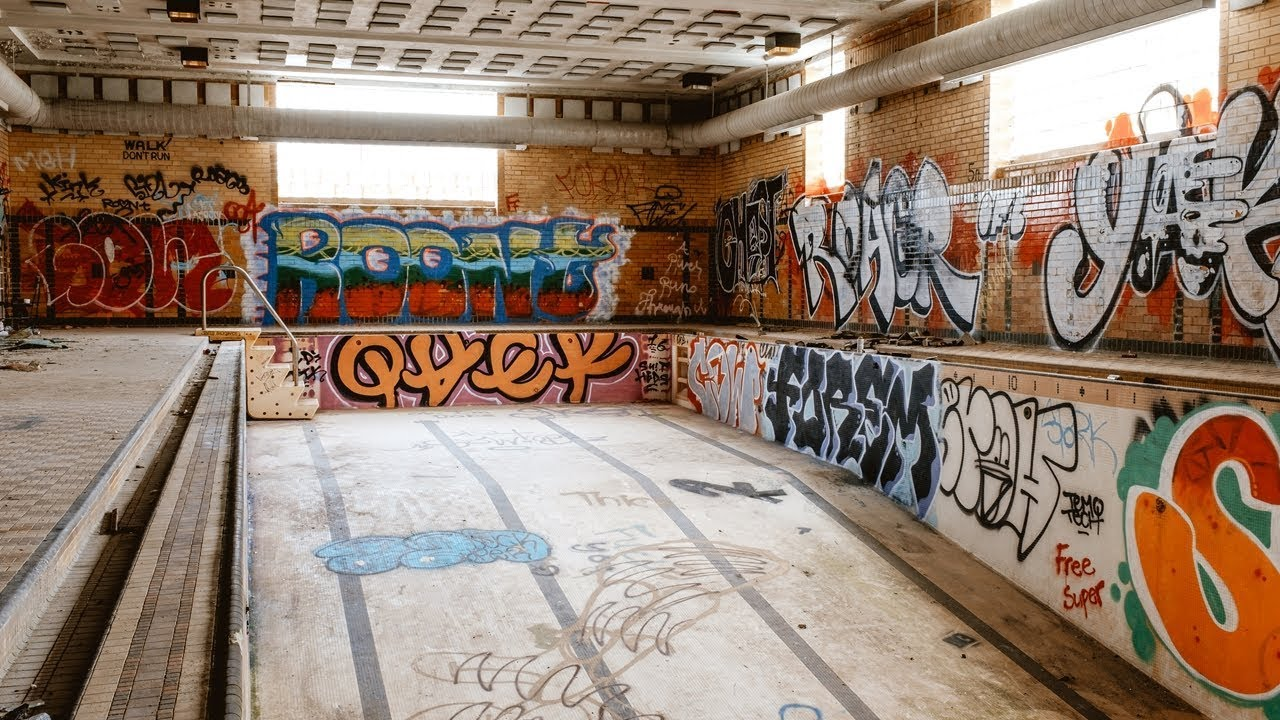 abandoned places near urban mystery