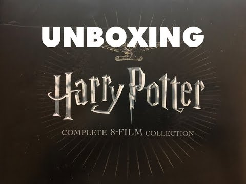 Harry Potter 4K 8 Film Collection - Blu-Ray Steelbook Unboxing