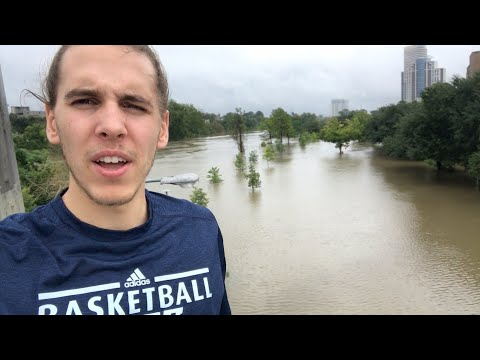 Cars & Homes Underwater in Houston's Catastrophic Flooding - Hurricane Harvey Aftermath