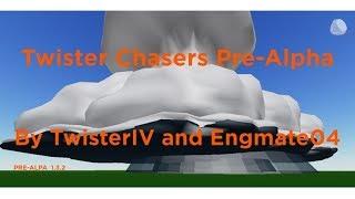 Roblox: Twister Chasers Risque modéré avec l'épidémie de tornade! PARTIE 1