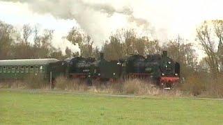 Mit Dampf- und Dieselkraft nach Gerolstein mit 38 1182  -  38 2267 und  221 135-7