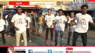 CONGRESS' ELECTION CAMPAIGN USING FLASH MOBS_Prudent Media Goa