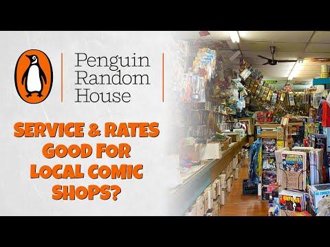Penguin Random House Distribution Good For Comic Shops?
