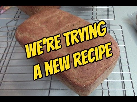 Trying A New Einkorn Wheat Bread Recipe /Daily Vlog 2/22/16
