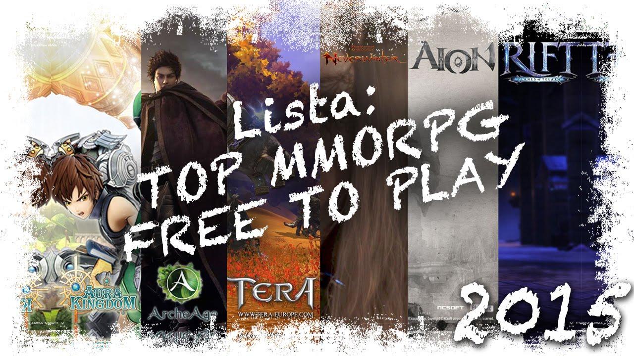 Top 6 Mmorpg Free To Play Principiantes Lista De Juegos Gratis Rol