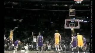 Kobe Bryant hits game winner! [VIDEO 2] 1/1/10 - Lakers vs Kings January 1st NEW YEARS DAY