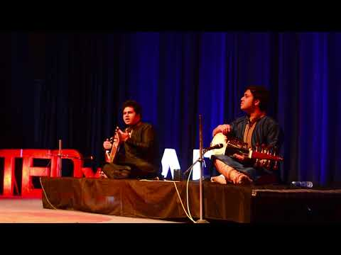 'Inside the mind of an Indian Classical Musician | Lakshay Mohan & Aayush Mohan | TEDxMAIT