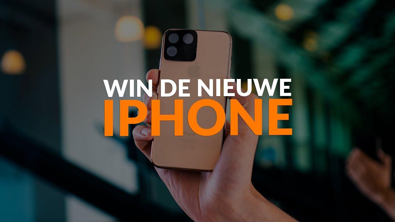 Win de nieuwe 2019 iPhone! iPhoned geeft de iPhone 11 weg!