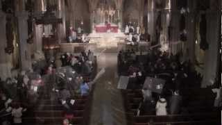 Palm Sunday 2013 - Procession into the church