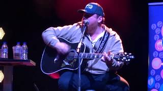 "Luke Combs - ""When It Rains It Pours"" (CMA Songwriters London 2018)"