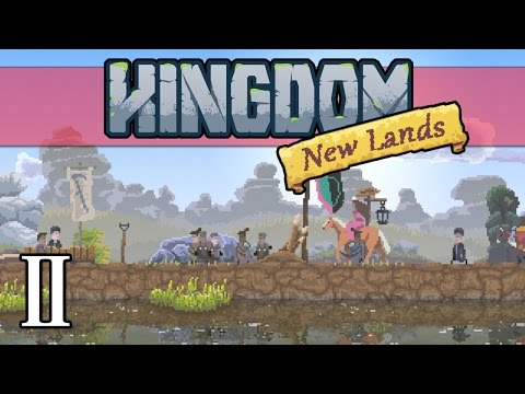Let's Play Kingdom New Lands Gameplay Walkthrough - Part 2: Building Farmland