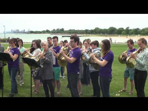 Peak Performance horns- at Northwestern Bienen School of Music