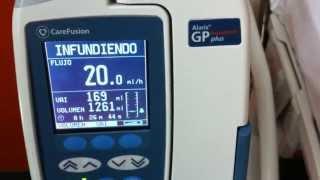 Bomba volumétrica Alaris® GP Plus con Guardrails® - CareFusion