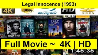 Legal Innocence Full Movie