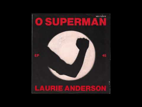 "Laurie Anderson - O Superman (1981) full 7"" EP"