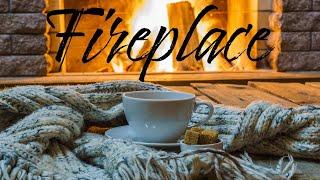 Smooth JAZZ & Fireplace - Warm Background JAZZ & Bossa Nova - Chill Out Music