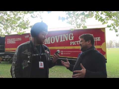 Day 5 of Cambridge Film Festival 2016: Chris Peters (Cinemobile!)