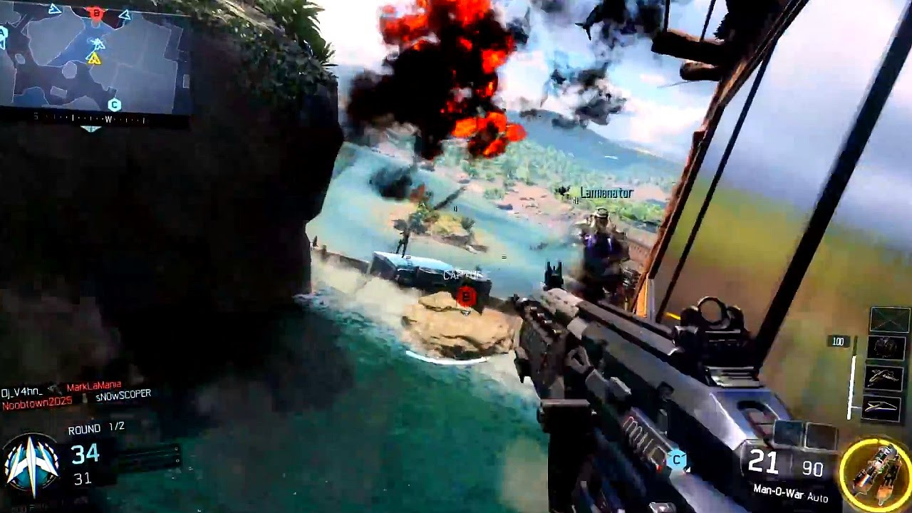 Official Call Of Duty Black Ops 3 Multiplayer Gameplay Trailer Youtube