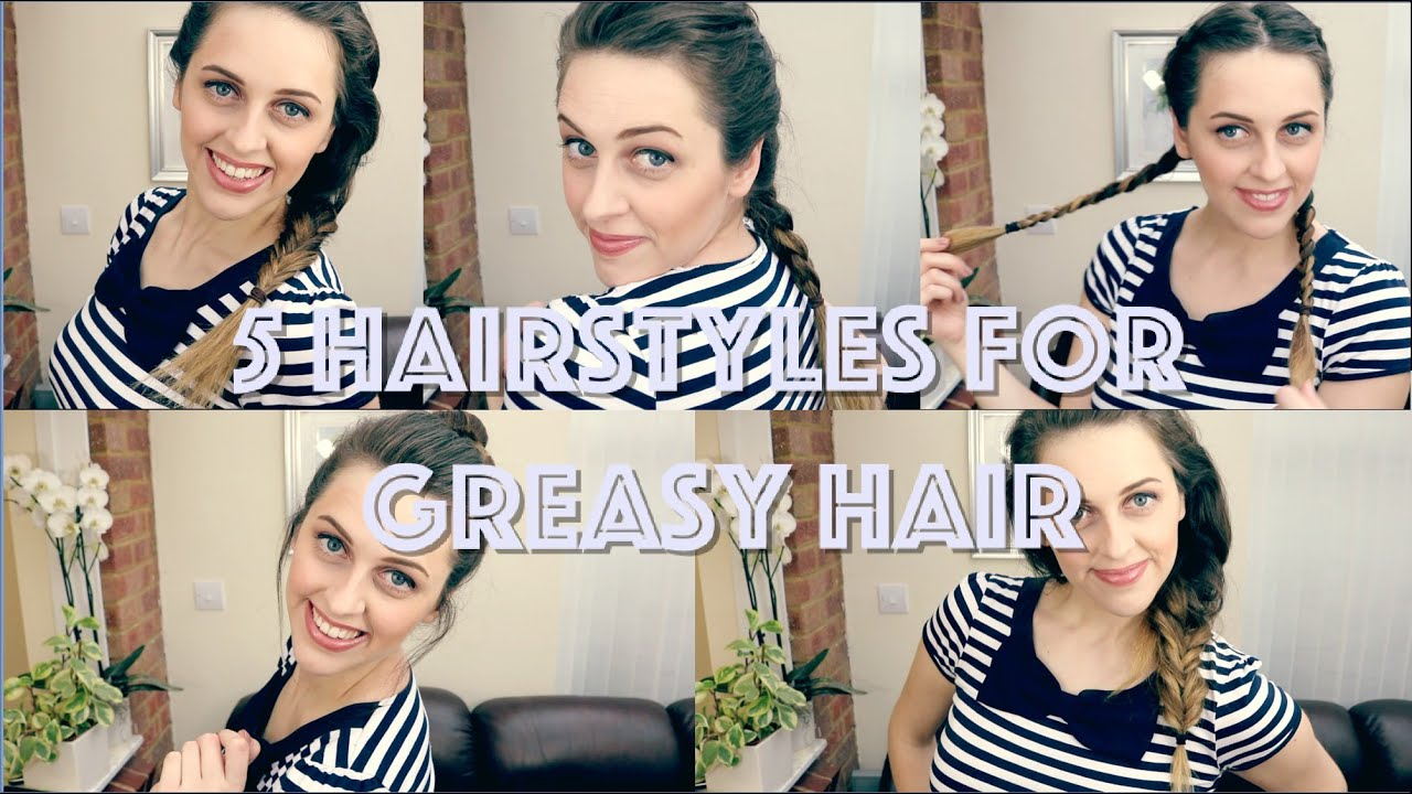 5 Hairstyles To Hide Greasy Hair Wild By Design Youtube