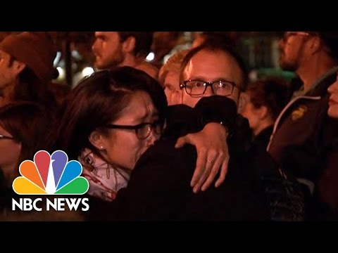 See Hundreds Attend Vigil In Honor Of Oakland Fire Victims!