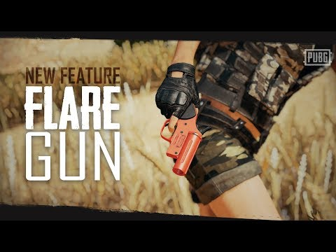 PUBG - New Feature - Flare Gun