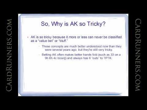 Matthew Janda Classroom: Understanding AK Post-Flop, CardRunners 07.09.14