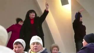Олимпиада 80.Народные танцы.парк Горького,Харьков!!!